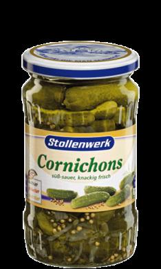 Cornichons  crunchy and fresh - tin