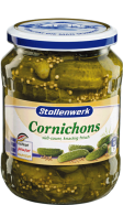 Cornichons sweet-sour, crunchy and fresh