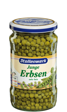 Peas  very fine - tin