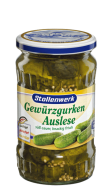 Selected pickled gherkins