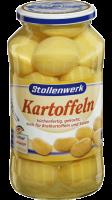 Kartoffeln küchenfertig gekocht, auch für Bratkartoffeln und Salate