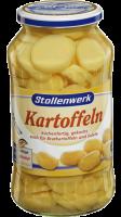 Kartoffeln Scheiben küchenfertig gekocht, auch für Bratkartoffeln und Salate