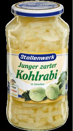 Cabbage turnip in stripes - tin