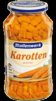Karotten gewürfelt gewürfelt