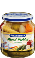 Mixed pickles spicy