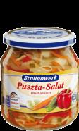 Puszta-Salat pikant gewürzt