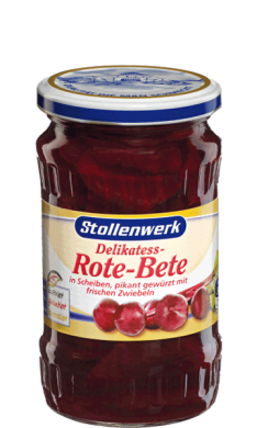 Beetroots  sliced spicy with fresh onions - tin
