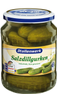 Salt-dill gherkins naturally cloudy, flavored