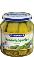 Sandwich gherkins sweet-spicy