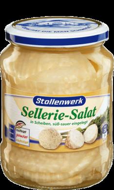 Sellerie-Salat Scheiben süß-sauer eingelegt - Konserve