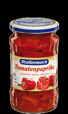 Tomatenpaprika Streifen pikant, süß-sauer - Konserve