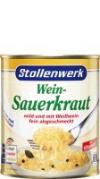 Wine-sauerkraut mild with white wine