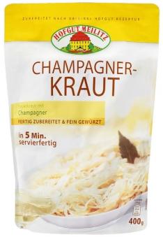 Champagnerkraut  Sauerkraut mit Champagner - Konserve