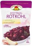 Festtags-Rotkohl mit Apfelstückchen und geräuchertem Kasseler