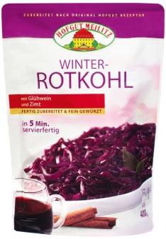 Winter-Rotkohl mit Glühwein und Zimt - Konserve